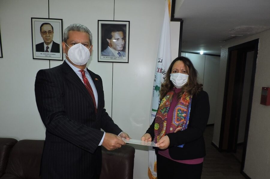 Courtesy Visit of H.E Mr.Hamid Asghar Khan, Ambassador of Pakistan in Morocco